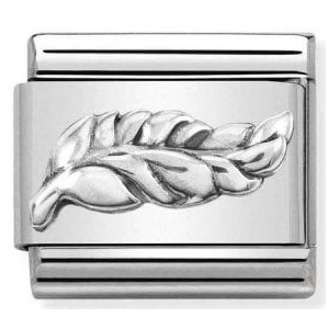 Nomination - Link 925 Silver 'Feather' 330101/47