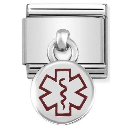 Nomination - Link 925 Silver 'Medyczny symbol' 331806/01