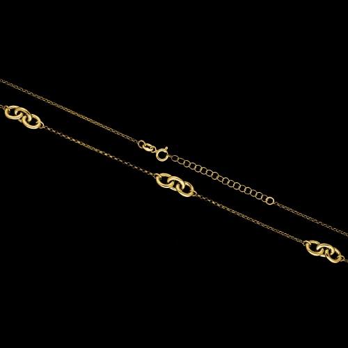 Pozłacany naszyjnik pr.925