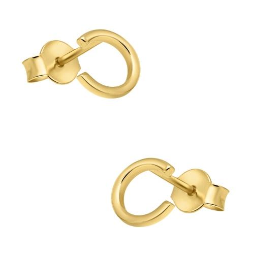 Złote kolczyki - C pr.585