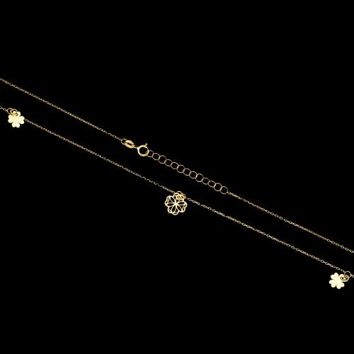 Złoty naszyjnik celebrytka - pr.333