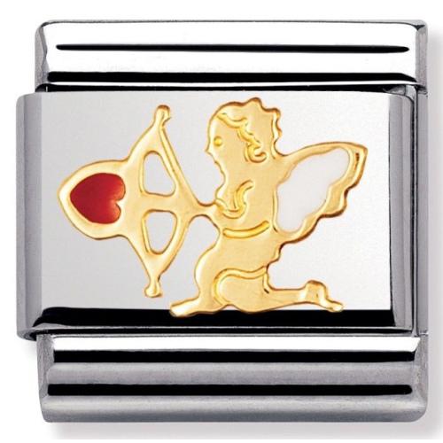 Nomination - Link 18K Gold Amor Emalia 030207/30