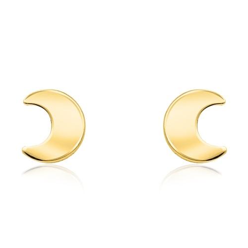 Złote kolczyki - Księżyce pr.585