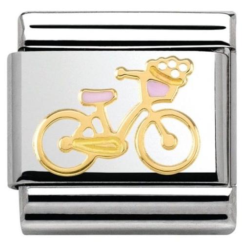 Nomination - Link 18K Gold 'Rower' 030285/40