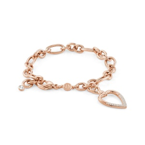 Bransoletka Nomination Endless - 'Rose Gold Rings' 149114/002
