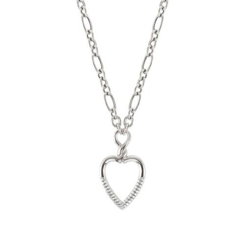 Naszyjnik Nomination Silver Endless - 'Heart' 149116/001