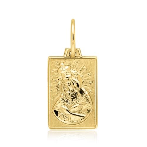 Złota zawieszka - Medalik pr.585