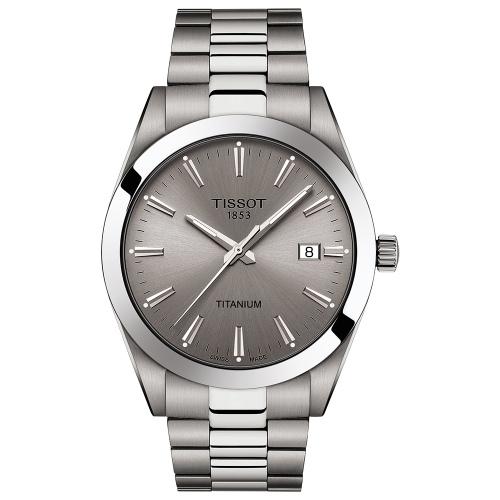 Zegarek Tissot T127.410.44.081.00 Gentleman Titanium