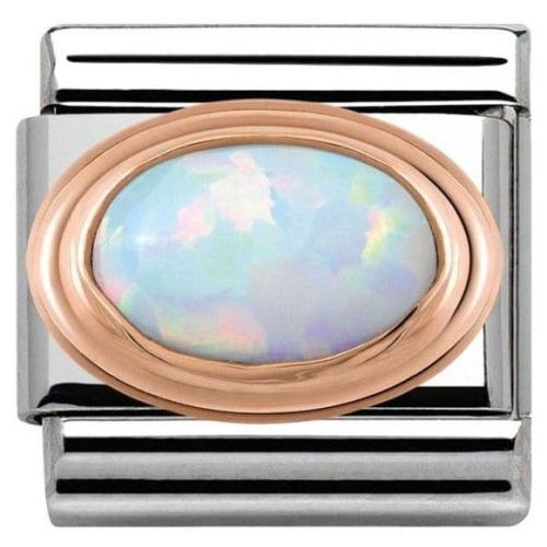Nomination - Link 9K Rosse Gold Opal 430501/07
