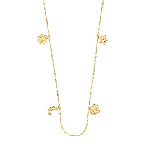 Złoty naszyjnik celebrytka - Romantyczny Wieczór pr.585
