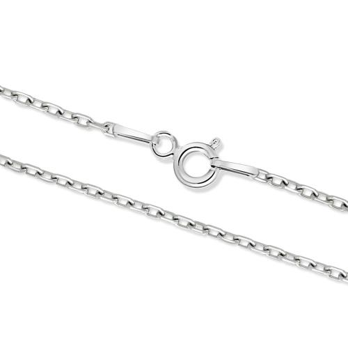 Srebrny łańcuszek - Ankier 55cm pr.925