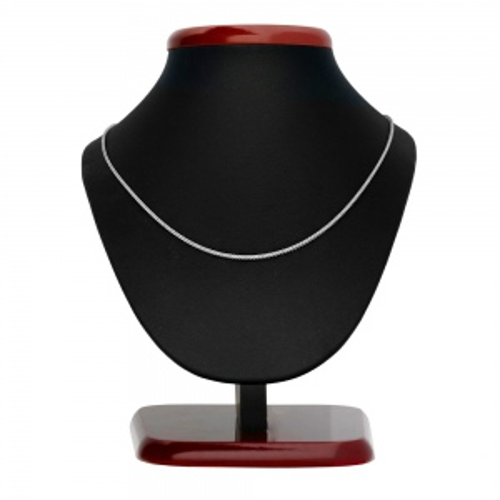Srebrny łańcuszek - Lisi Ogon 80cm pr.925