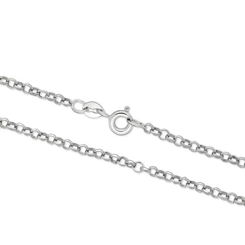 Srebrny Łańcuszek Żmijka 90cm pr. 925