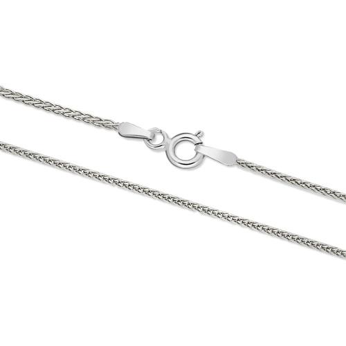 Srebrny łańcuszek - Lisi Ogon 50cm pr.925