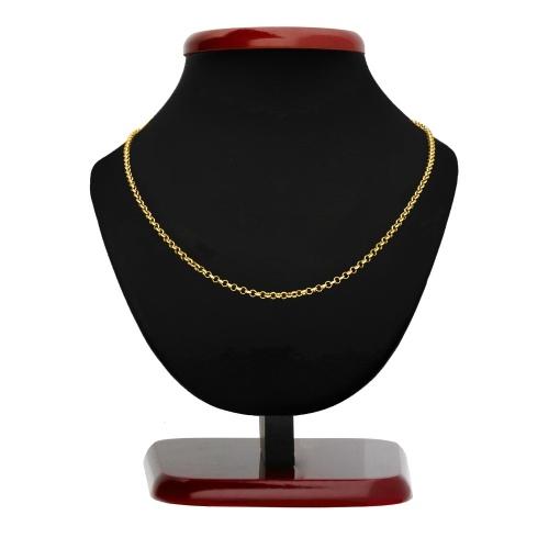 Złoty łańcuszek - Ankier 45cm pr.585