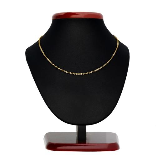 Złoty łańcuszek - Ankier 45cm pr.333