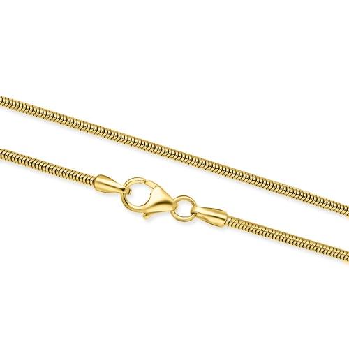 Złoty Łańcuszek Żmijka 50cm pr. 333