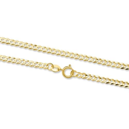 Złoty Łańcuszek Pancerka 45 cm pr. 585