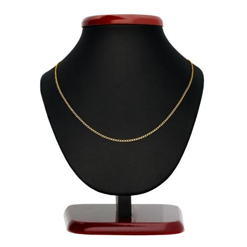 Złoty Łańcuszek Pancerka 45cm pr. 333