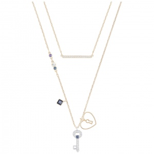 Naszyjnik SWAROVSKI - Glowing Necklace Oval Key Set, Versatile 5273295
