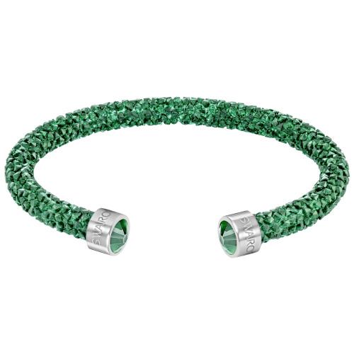 Bransoletka SWAROVSKI - Crystaldust Cuff, Bright Green 5273637