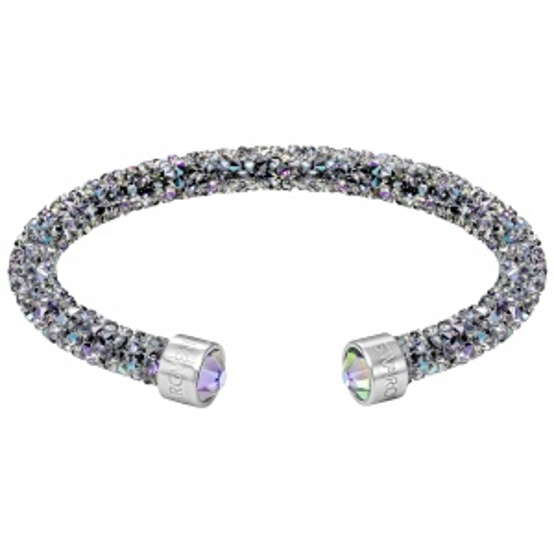 Bransoletka SWAROVSKI - Crystaldust Cuff, Purple 5292445 S