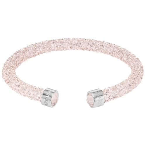 Bransoletka SWAROVSKI - Crystaldust Cuff, Rose Pink 5292444