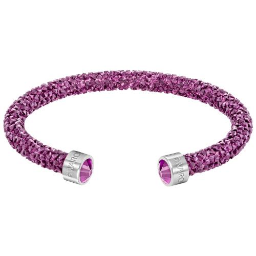 Bransoletka SWAROVSKI - Crystaldust Cuff, Fuchsia Pink 5292439