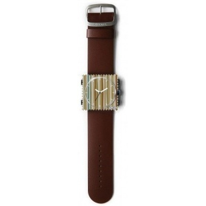Pasek STAMPS - Classic Leather Dark Brown 100003/1600