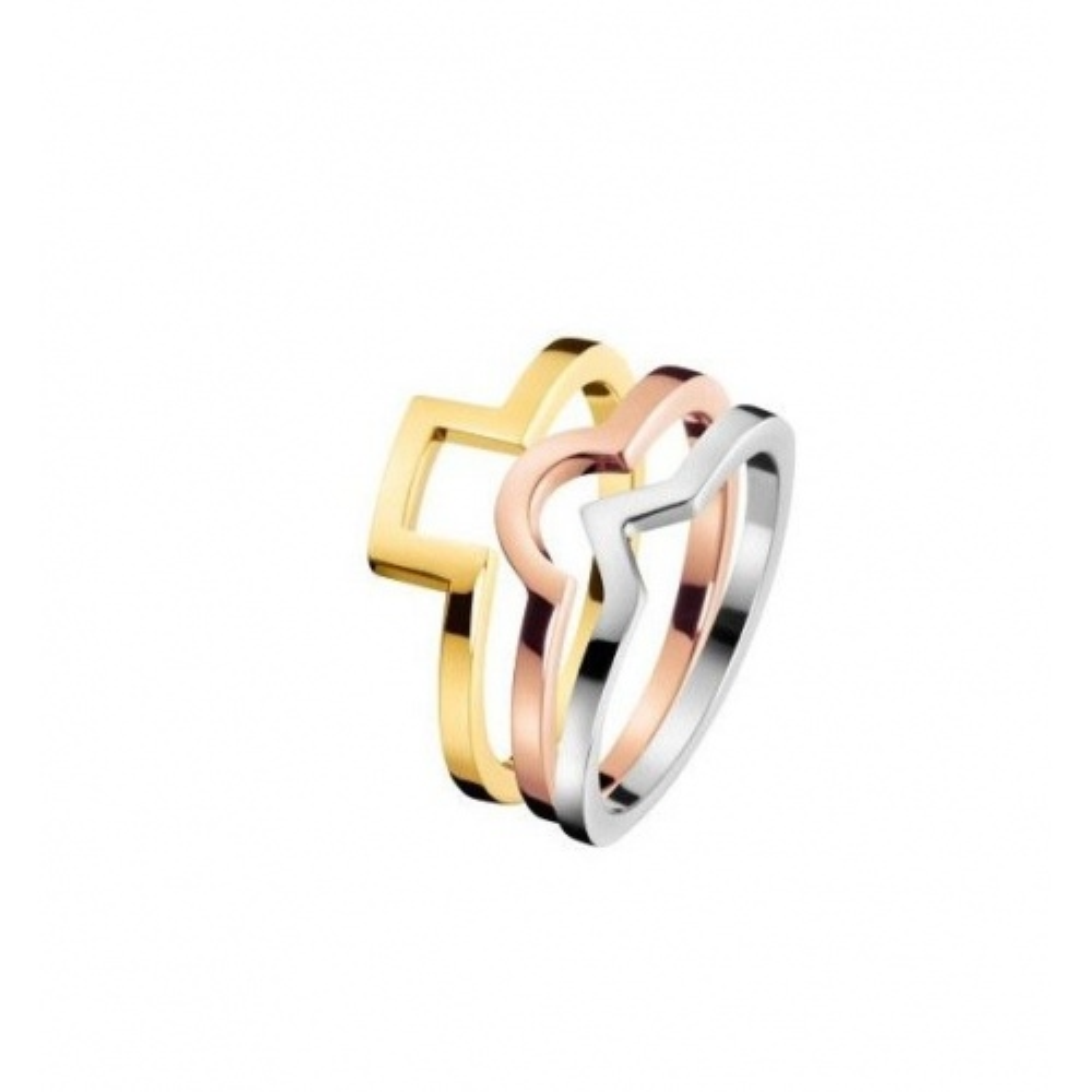 Zestaw Pierścionków Calvin Klein KJ4VDR300107