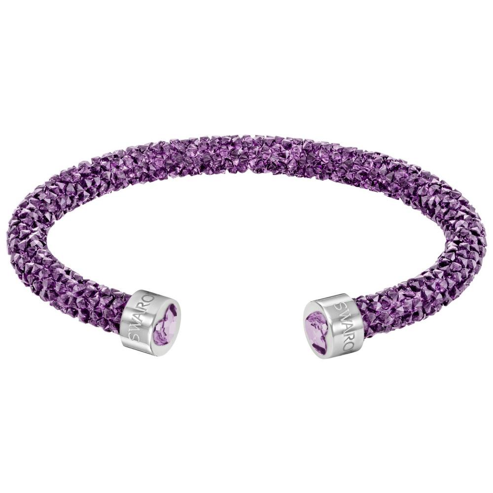 Bransoletka SWAROVSKI - Crystaldust Cuff, Purple 5292447