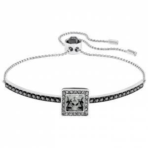 Bransoletka SWAROVSKI - Gently Bangle Black 5276323