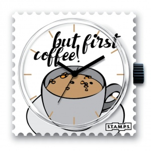 Zegarek STAMPS - 104281 First Coffee