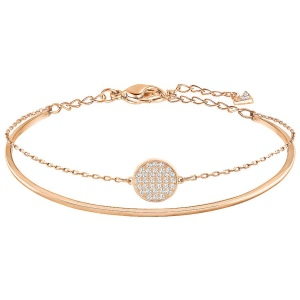 Bransoletka SWAROVSKI - Ginger Bangle Rode Gold 5274892