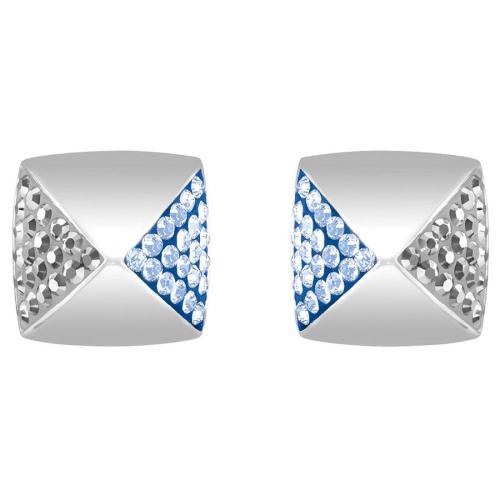 Kolczyki SWAROVSKI - Glance Pierced Blue 5272102