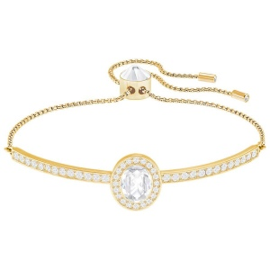 Bransoletka SWAROVSKI - Gently Bangle White 5279315