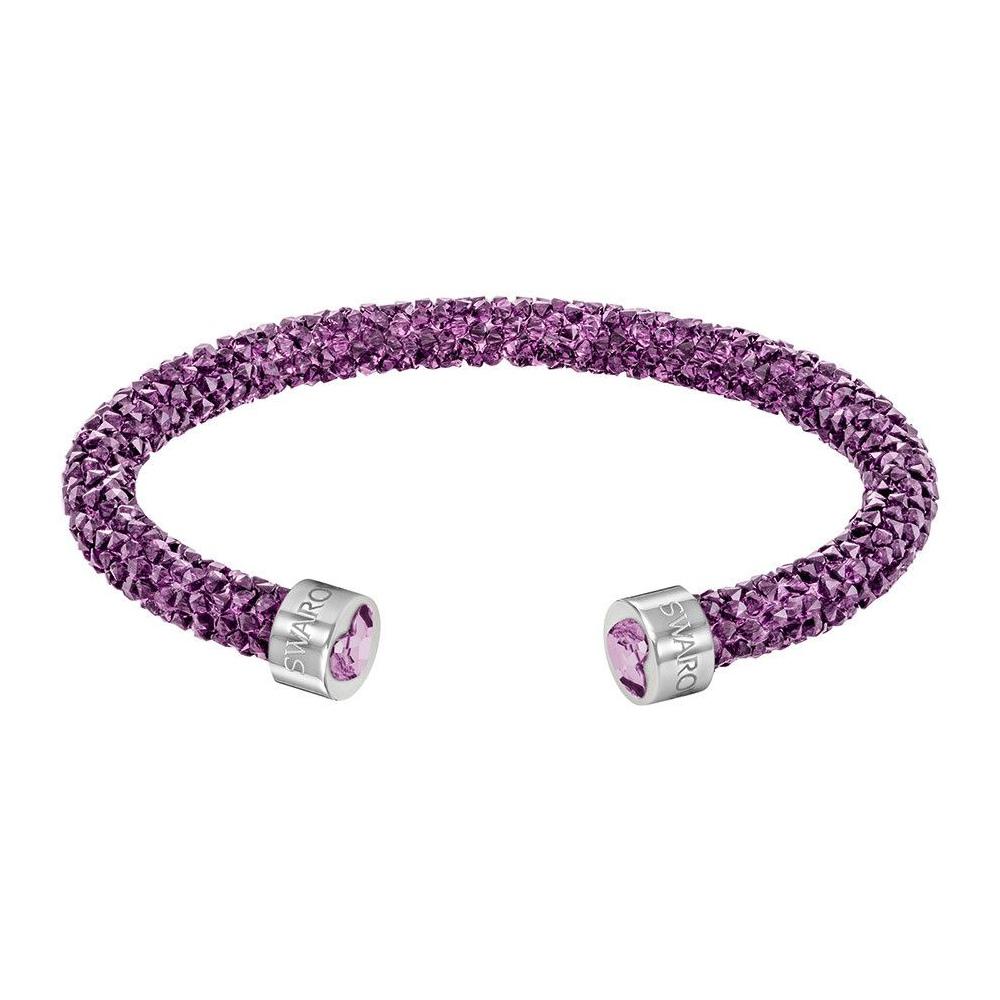 Bransoletka SWAROVSKI - Crystaldust Heart, Purple 5278499 M
