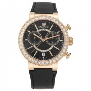 Zegarek Swarovski Citra Sphere Chrono Black Rose Gold Tone 5055209