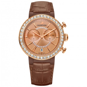 Zegarek Swarovski Citra Sphere Chrono Brown 5183367