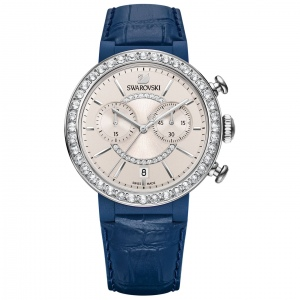 Zegarek Swarovski Citra Sphere Chrono Blue Gray 5210208