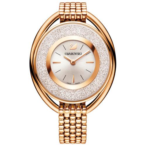 Zegarek Swarovski Crystalline Oval Rose Gold Tone Bracelet 5200341