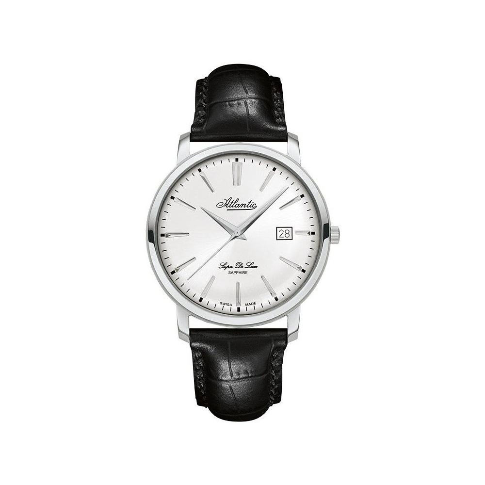 Zegarek Męski Atlantic 64351.41.21 Super De Luxe