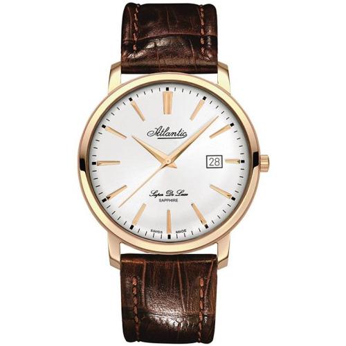Zegarek Męski Atlantic 64351.44.21 Super De Luxe