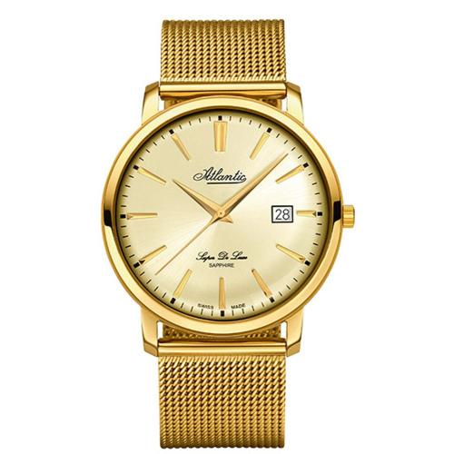 Zegarek Męski Atlantic 64356.45.31 Super De Luxe