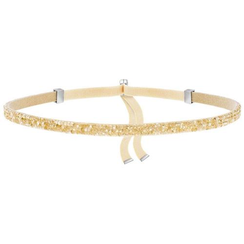 Naszyjnik SWAROVSKI - Crystaldust Choker, Gold Tone 5279166