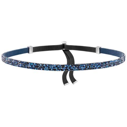 Naszyjnik SWAROVSKI - Crystaldust Choker, Blue 5279163