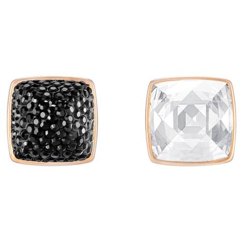 Kolczyki SWAROVSKI - Glance Pierced Black 5253017