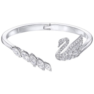 Bransoletka SWAROVSKI - Swan Lake Bangle 5258397 L