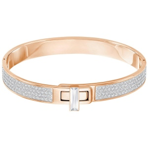 Bransoletka SWAROVSKI - Gave Bangle, White 5277839