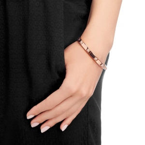 Bransoletka SWAROVSKI - Tactic Thin Bangle 5098834 S